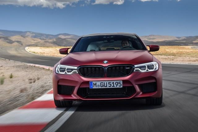 Sedan hiệu suất cao BMW M5 2018 chính thức được vén màn - Ảnh 18.