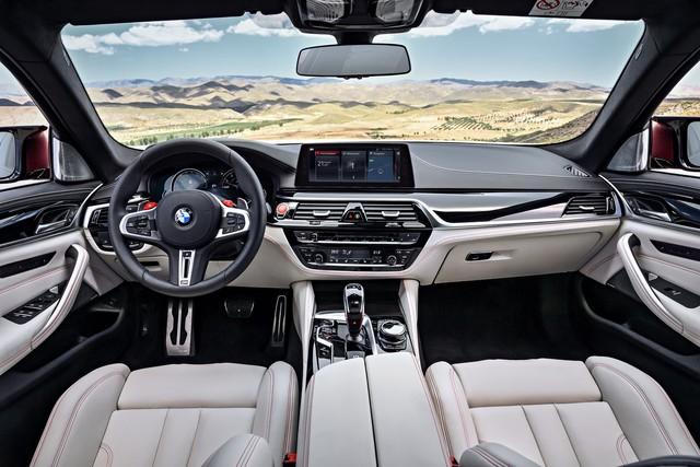 Sedan hiệu suất cao BMW M5 2018 chính thức được vén màn - Ảnh 19.