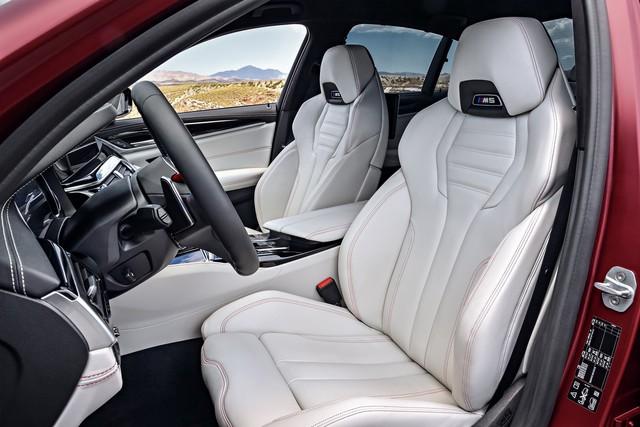 Sedan hiệu suất cao BMW M5 2018 chính thức được vén màn - Ảnh 20.