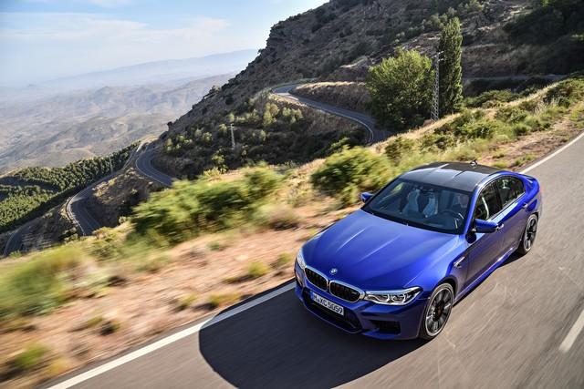 Sedan hiệu suất cao BMW M5 2018 chính thức được vén màn - Ảnh 21.