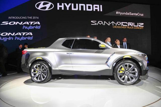 Xe bán tải Hyundai Santa Cruz chính thức được bật đèn xanh - Ảnh 1.