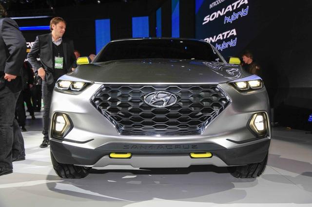 Xe bán tải Hyundai Santa Cruz chính thức được bật đèn xanh - Ảnh 2.