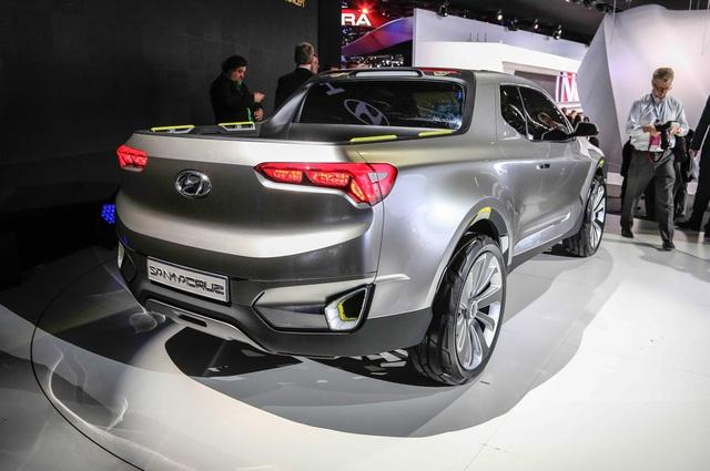Xe bán tải Hyundai Santa Cruz chính thức được bật đèn xanh - Ảnh 3.