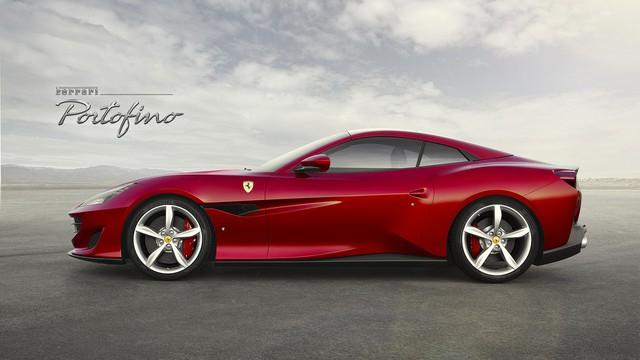 Ferrari Portofino - siêu xe mui trần thay thế California T - bất ngờ được tung ra - Ảnh 2.