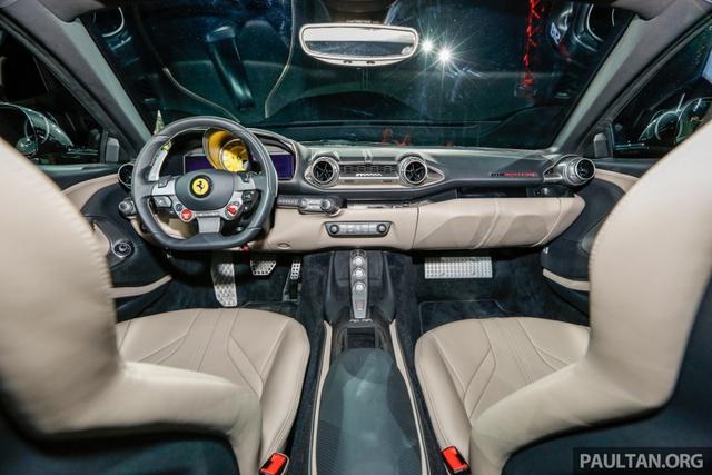 Siêu xe Ferrari 812 Superfast chính thức trình làng tại Đông Nam Á với giá chưa thuế 8,38 tỷ Đồng - Ảnh 10.