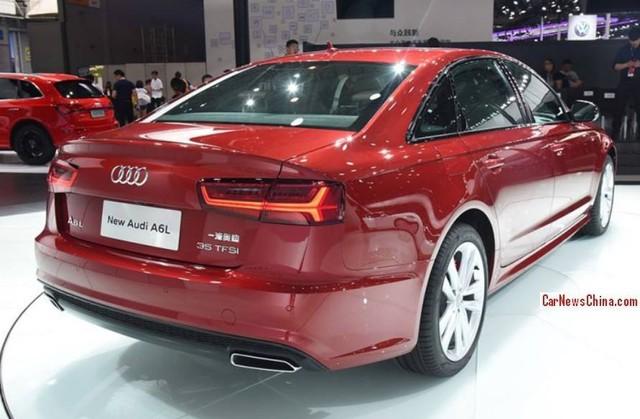 Vén màn phiên bản mới của Audi A6 trục cơ sở dài - Ảnh 4.