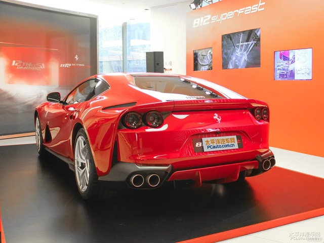 Siêu xe Ferrari 812 Superfast cập bến châu Á với giá 18,4 tỷ Đồng - Ảnh 4.