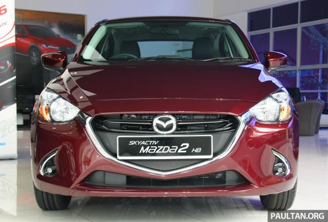 Mazda2 2017 tiếp tục ra mắt Đông Nam Á với giá 466 triệu Đồng - Ảnh 1.