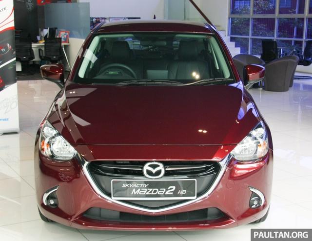 Mazda2 2017 tiếp tục ra mắt Đông Nam Á với giá 466 triệu Đồng - Ảnh 4.