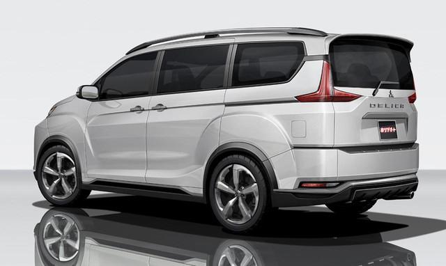 Đây có thể là diện mạo của xe MPV Mitsubishi Delica 2017 sắp ra mắt - Ảnh 2.
