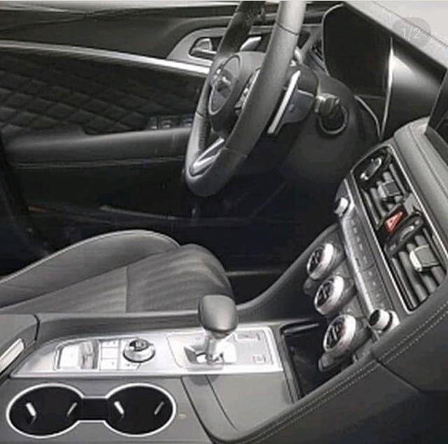 Lần đầu bắt gặp sedan thể thao Genesis G70 trên đường phố - Ảnh 2.