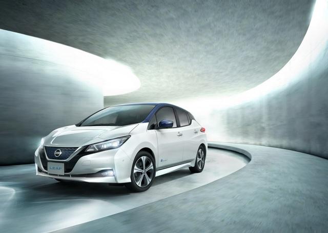 Nissan Leaf 2018 ra mắt với công nghệ nhiều như mây - Ảnh 1.