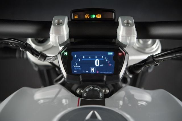 Ducati XDiavel 2018 đẹp mã hơn với màu sơn trắng mới - Ảnh 8.