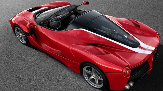 Siêu xe Ferrari LaFerrari Aperta cuối cùng xuất xưởng có giá choáng váng 227 tỷ Đồng - Ảnh 2.