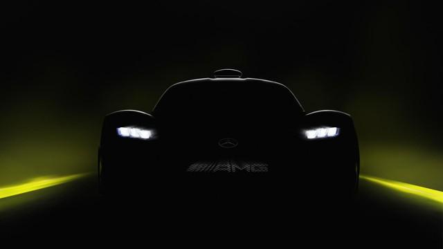 Hình ảnh nhìn từ phía sau của siêu xe Mercedes-AMG Project One gây sốt - Ảnh 3.