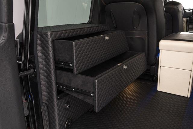 Brabus G65 - Xe off-road mạnh nhất thế giới, giá lên đến 18,16 tỷ Đồng - Ảnh 10.