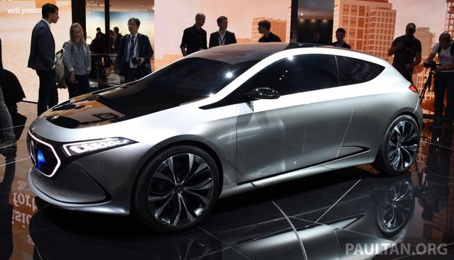Mercedes-Benz Concept EQ A - Ô tô điện đầy phong cách - Ảnh 1.