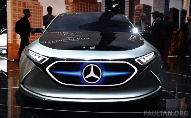 Mercedes-Benz Concept EQ A - Ô tô điện đầy phong cách - Ảnh 2.
