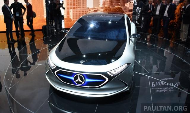 Mercedes-Benz Concept EQ A - Ô tô điện đầy phong cách - Ảnh 6.