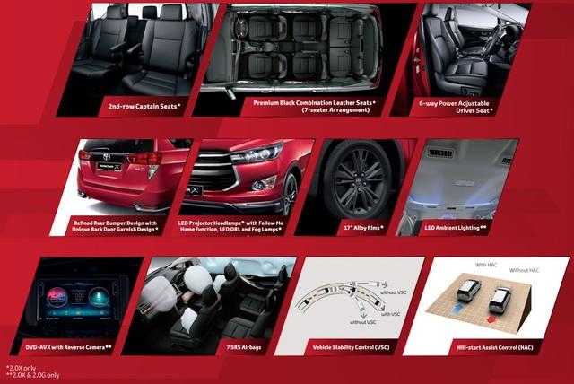 Toyota giới thiệu Innova 2017 tại Malaysia, có thêm bản 2.0X mới - Ảnh 1.