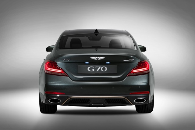 Sedan thể thao Genesis G70 chính thức trình làng, cạnh tranh BMW 3-Series và Mercedes-Benz C-Class - Ảnh 5.