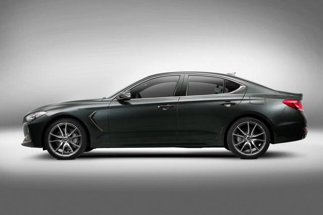 Sedan thể thao Genesis G70 chính thức trình làng, cạnh tranh BMW 3-Series và Mercedes-Benz C-Class - Ảnh 6.