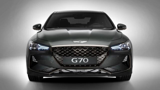 Sedan thể thao Genesis G70 chính thức trình làng, cạnh tranh BMW 3-Series và Mercedes-Benz C-Class - Ảnh 10.