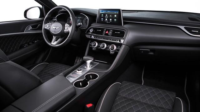 Sedan thể thao Genesis G70 chính thức trình làng, cạnh tranh BMW 3-Series và Mercedes-Benz C-Class - Ảnh 11.