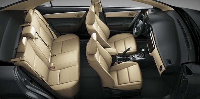 Toyota Corolla Altis 2017 chính thức được bày bán tại Việt Nam, giá từ 702 triệu Đồng - Ảnh 5.
