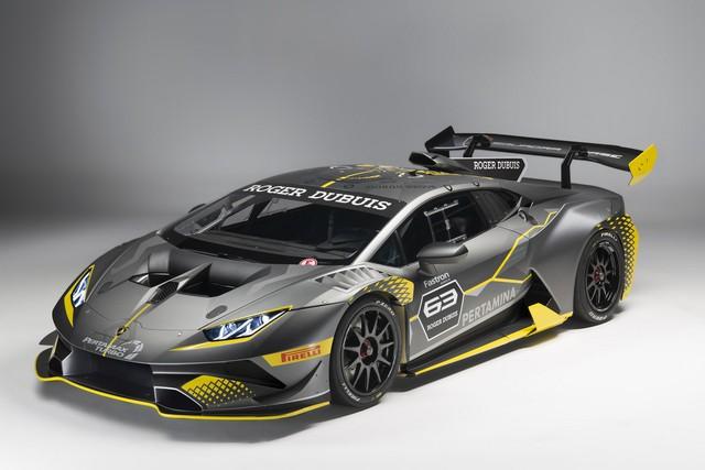 Lamborghini vén màn phiên bản đường đua của siêu xe Huracan - Ảnh 2.