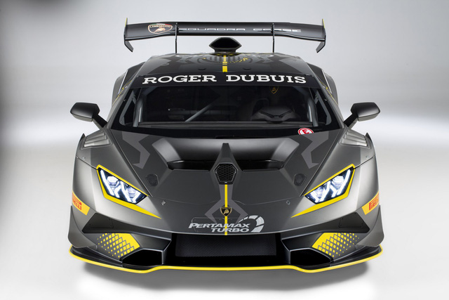 Lamborghini vén màn phiên bản đường đua của siêu xe Huracan - Ảnh 3.