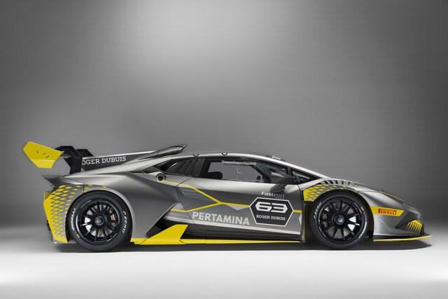 Lamborghini vén màn phiên bản đường đua của siêu xe Huracan - Ảnh 4.