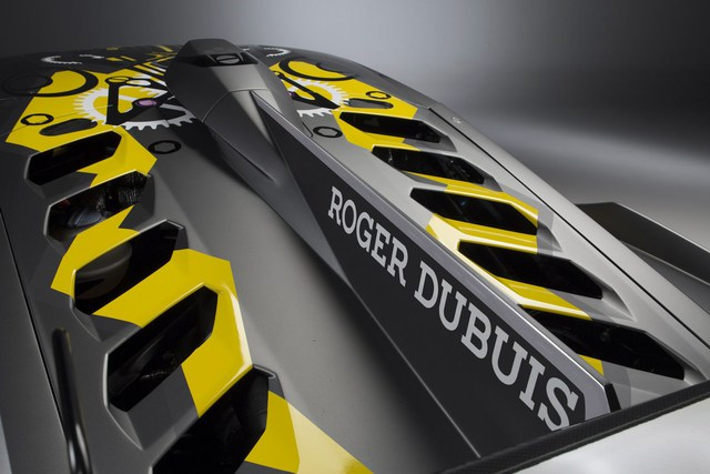 Lamborghini vén màn phiên bản đường đua của siêu xe Huracan - Ảnh 5.
