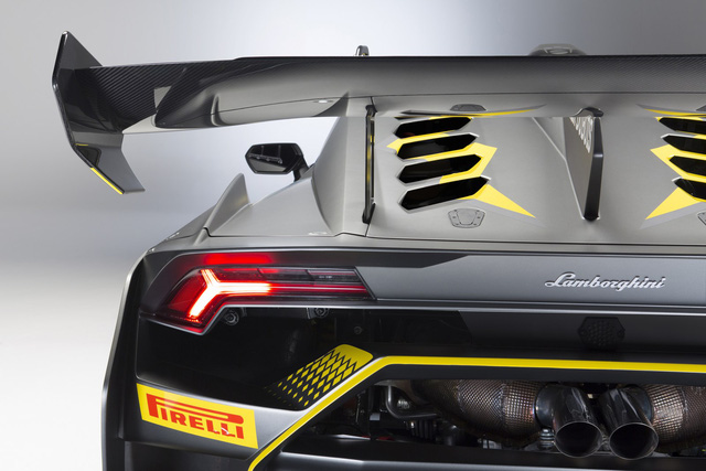 Lamborghini vén màn phiên bản đường đua của siêu xe Huracan - Ảnh 6.