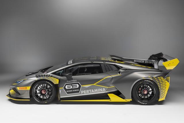 Lamborghini vén màn phiên bản đường đua của siêu xe Huracan - Ảnh 7.