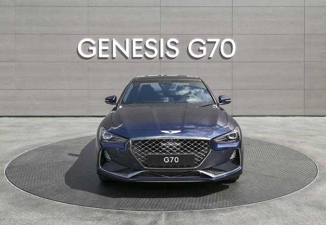 Đây là diện mạo bằng xương, bằng thịt của sedan thể thao Genesis G70 mới ra mắt - Ảnh 5.