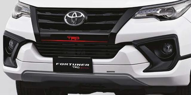 Toyota Fortuner TRD Sportivo 2017 tiếp tục ra mắt châu Á với giá cao hơn - Ảnh 1.