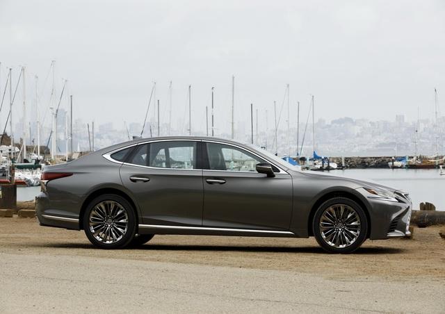 Lexus LS500 2018 - Sedan hạng sang cỡ lớn ngon, bổ, rẻ - Ảnh 1.