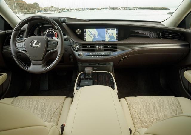 Lexus LS500 2018 - Sedan hạng sang cỡ lớn ngon, bổ, rẻ - Ảnh 4.