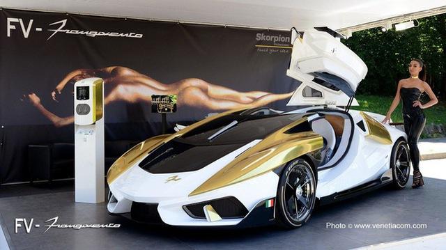 Frangivento Asfanè Charlotte Roadster - Siêu xe đi kèm bể cá trong nội thất tái xuất - Ảnh 1.