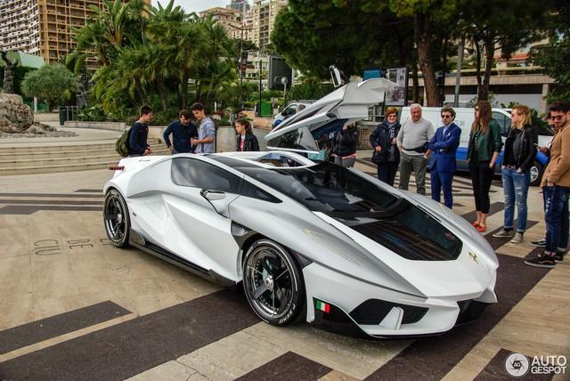 Frangivento Asfanè Charlotte Roadster - Siêu xe đi kèm bể cá trong nội thất tái xuất - Ảnh 2.