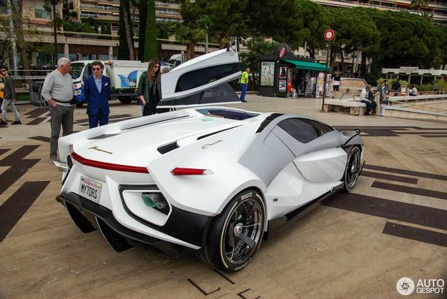 Frangivento Asfanè Charlotte Roadster - Siêu xe đi kèm bể cá trong nội thất tái xuất - Ảnh 7.