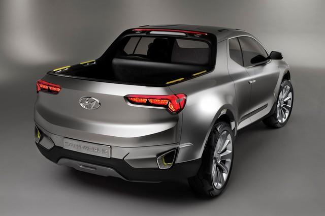 Hyundai phát triển xe bán tải thực thụ để cạnh tranh Ford Ranger và Toyota Hilux - Ảnh 3.