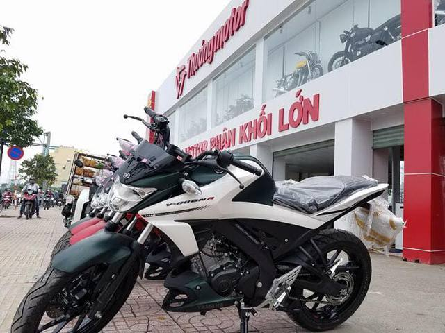 Lô xe côn tay Yamaha V-Ixion R 2017 đầu tiên cập bến Việt Nam với giá hơn 70 triệu Đồng - Ảnh 3.
