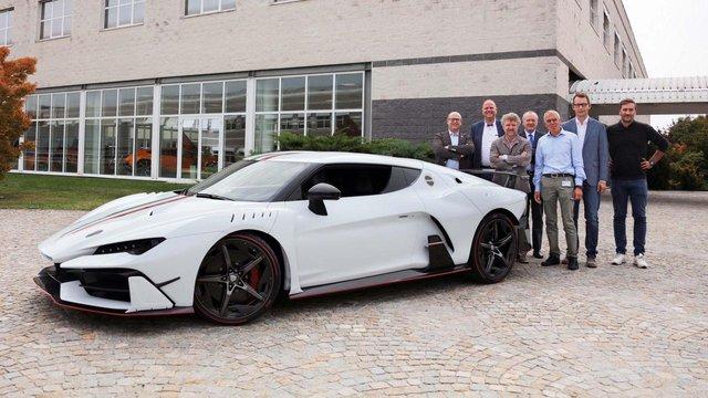 Chiếc siêu xe Italdesign Zerouno ra đời từ Lamborghini Huracan đầu tiên được giao cho khách - Ảnh 1.