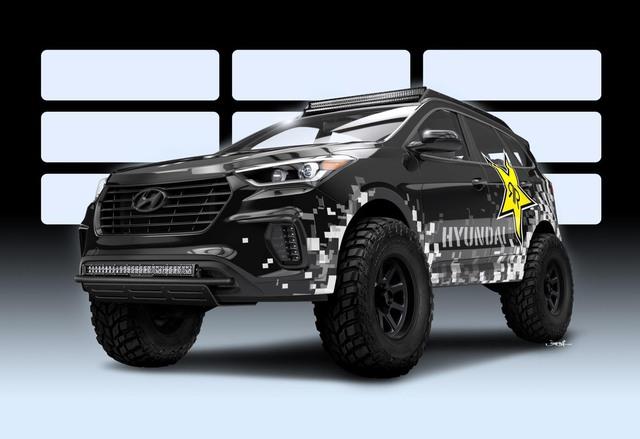 Làm quen với Hyundai Santa Fe phiên bản thách thức mọi địa hình - Ảnh 1.