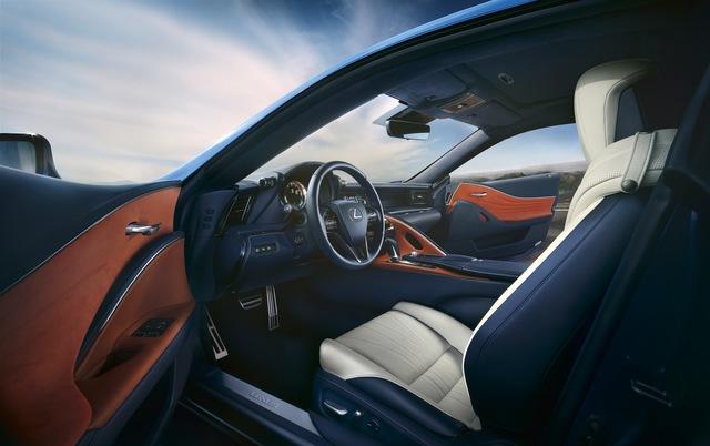 Lexus LC 2018 mang màu sơn đặc biệt được phát triển trong suốt 15 năm - Ảnh 5.