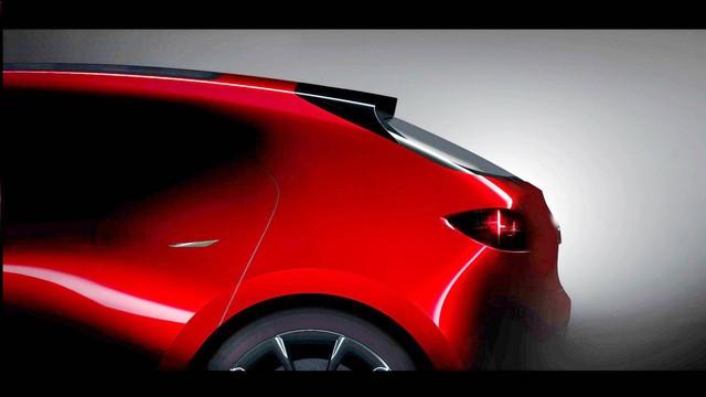 Mazda hé lộ 2 mẫu xe được cho là hình ảnh xem trước của Mazda3 và Mazda6 thế hệ mới - Ảnh 3.