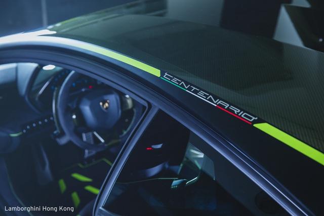 Mãn nhãn với Lamborghini Centenario màu xanh cốm nhám tuyệt đẹp của đại gia châu Á - Ảnh 7.