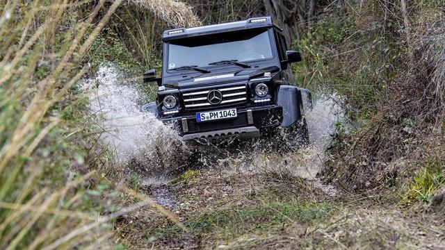 SUV hạng sang bánh lớn Mercedes-Benz G500 4×4² bị khai tử trong tháng này - Ảnh 2.